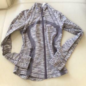 Lululemon lilac purple white Cream forme jacket 2
